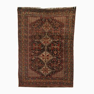 Tappeto Mid-Century fatto a mano in lana, Medio Oriente