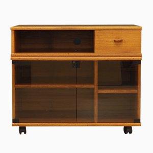Mueble de TV danés de teca, años 60