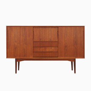 Vintage Danish Highboard, 1960s