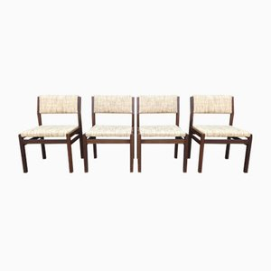 Model SA07 Teak Dining Chairs by Cees Braakman for Pastoe, 1960s, Set of 4