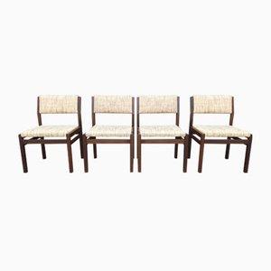 Modell SA07 Stuhl aus Teak von Cees Braakman für Pastoe, 1960er, 4er Set