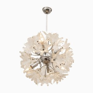 Italian Murano Glass Chandelier by Paolo Venini for VeArt, 1960s