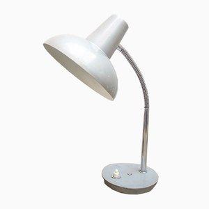Graue Vintage Tischlampe, 1960er