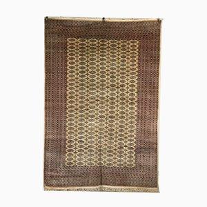 Tapis Bokara Vintage en Laine et en Coton