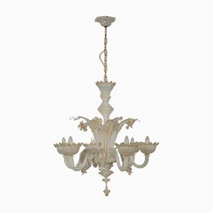 Antique Italian Murano Glass Chandelier