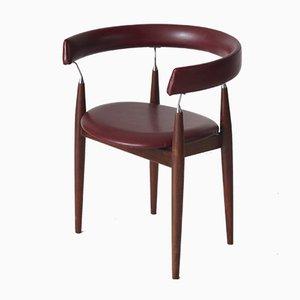 Silla de escritorio escandinava vintage, años 60