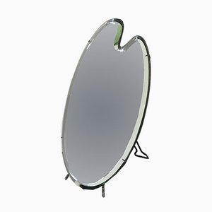 Mid-Century Italian Table Mirror by Luigi Fontana & C, 1950s