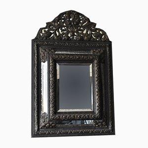 Espejo Repousse grande, siglo XIX