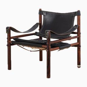 Sirocco Safari Stuhl aus Palisander von Arne Norell, 1960er