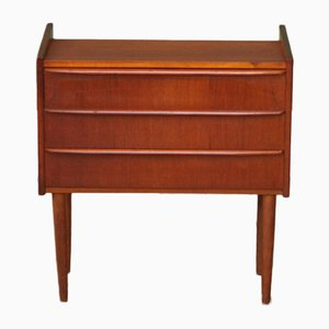 Mid-Century Danish Bedside Chest, 1950s