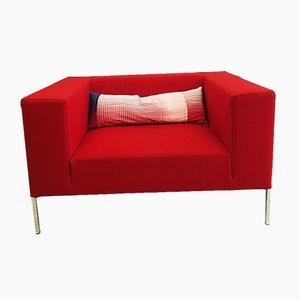 Rotes Allen2 Sofa von Bruno Fattorini für MDF Italia, 1990er