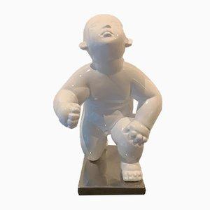 Statua in bronzo di Gong Dong, inizio XXI secolo