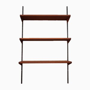 Vintage Teak Wall Shelves by Kai Kristiansen, 1960s