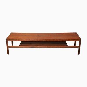 Longue Table Basse à 2 Niveaux, Danemark, 1960s
