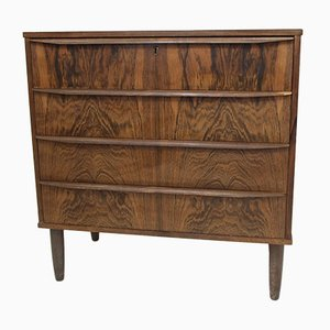 Mid-Century Danish Rosewood Chest, 1950s
