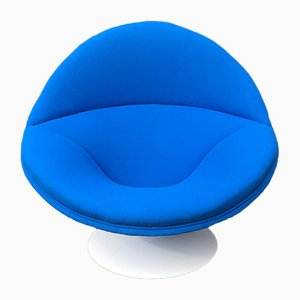 Large Plastic & Textile F553 Globe Lounge Chair by Pierre Paulin for Artifort, 1960s