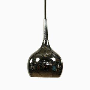 Lámpara colgante Tulip de cromo, años 70