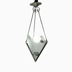 Art Deco Pendant Light, 1930s