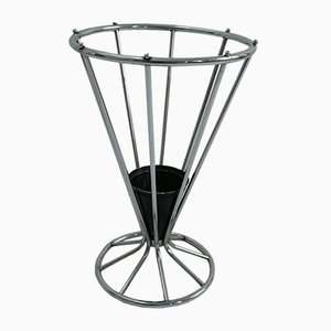 Vintage Schirmständer aus Chrom
