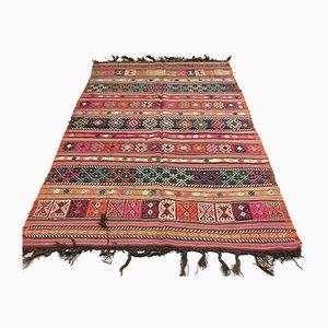 Großer türkischer Vintage Kelim Teppich, 1950er