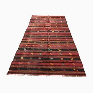 Großer türkischer Kelim Teppich, 1950er