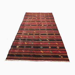 Large Turkish Kilim Rug, 1950s