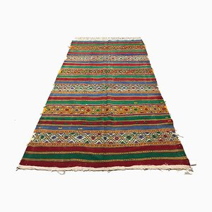 Large Vintage Turkish Kilim Rug, 1960s