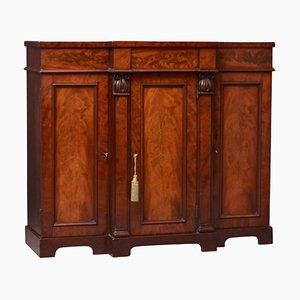 Antique William IV Mahogany Sideboard, 1890s
