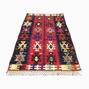Türkischer Kelim Wollteppich, 1960er