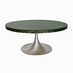 Tulip Coffee Table with Glass Mosaic by Heinz Lilienthal, 1960s