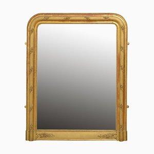 Antique French Pier Gilt Mirror, 1890s