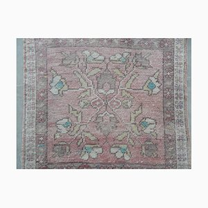 Vintage Turkish Floral Rug