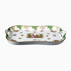 Small Antique Porcelain Platter