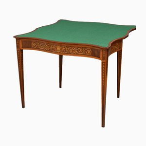 Table à Cartes Style Sheraton Antique