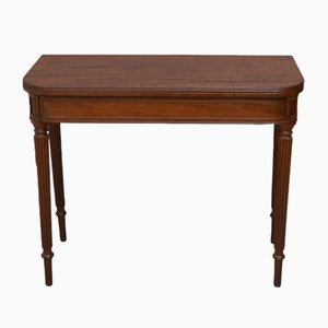Antique Regency Mahogany Card Table