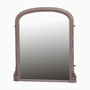 Specchio a muro dipinto, XIX secolo