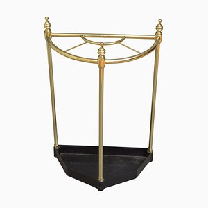 Antique Style Brass Umbrella Stand, 1930s