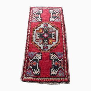 Kleiner türkischer Mid-Century Teppich, 1970er