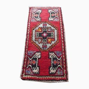Small Mid-Century Turkish Decorative Rug, 1970s