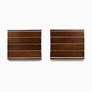 Mid-Century Chests of Drawers, 1960s, Set of 2