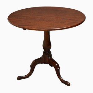 Antiker georgianischer Tisch aus Palisander mit abnehmbarer Tischplatte aus Mahagoni