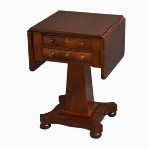 Antiker William IV Schreibtisch aus Mahagoni