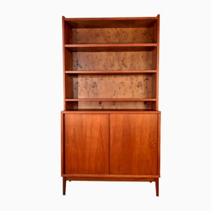 Mid-Century Scandinavian Teak Shelving Unit from Plyfa
