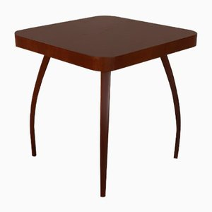 Tschechischer Vintage Spider Tisch aus dunkler Eiche von Jindřich Halabala für UP Závody