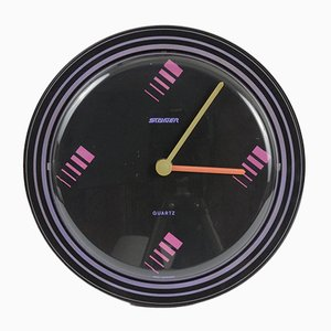 German Quartz Wall Clock from Staiger, 1980s