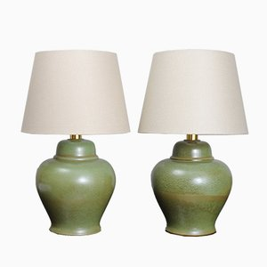Vintage Ceramic Table Lamps from PAF Studio, 1970s, Set of 2