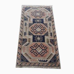 Handgefertigter Vintage Teppich, 1970er