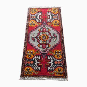 Small Vintage Handmade Turkish Rug, 1970s