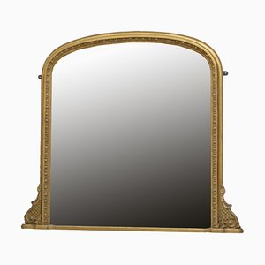 Antique Regency Giltwood Wall Mirror, 1890s