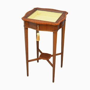 Antique Mahogany Display Table from Edwards & Roberts, 1900s